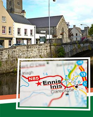 Cursos de Inglés en Ennis